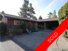 SE Cordova Bay House for sale:  3 bedroom 2,461 sq.ft. (Listed 2010-09-15)